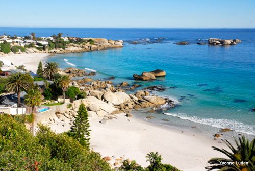 On the Blue Mini Peninsula Tour - Clifton. pic via blogger ivonne luden.