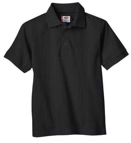 "Dickies Big Boys' Short Sleeve Pique Polo - School Uniform, Black, XL (18-20) Dickies http://www.amazon.com/dp/B001PTGNHY/ref=cm_sw_r_pi_dp_XNT9ub1CMKSR8 AAMAZON HAS ""DICKIES"" IN XL FOR $9.55"