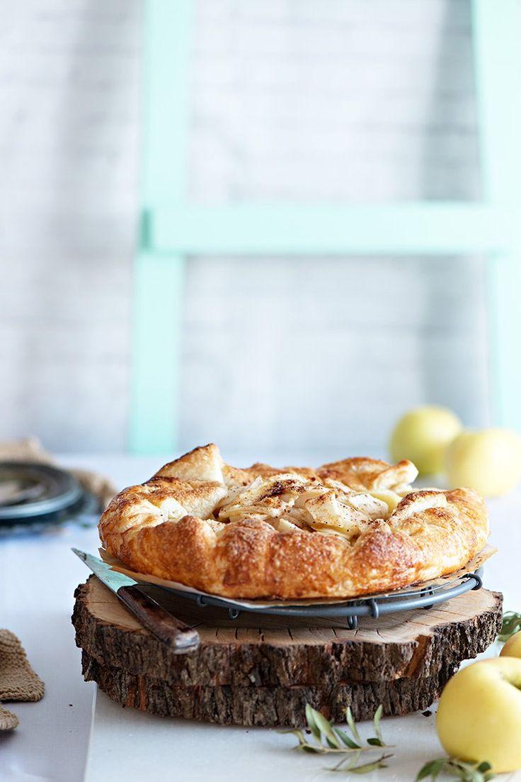 Buscas una receta rápida, bonita y deliciosa? La tenemos!! Galette de manzana en 30 minutos. Ven a verla