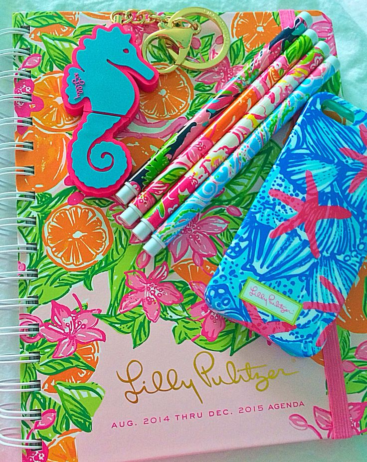 All I want for graduation is a Lilly Pulitzer planner!