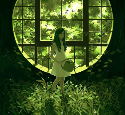 Green girl: Fantasygeek Art, Girls Generation, Tales Beautiful, Riyss Deviantart Com, Deviantart Favourit, Art Misc, Green Girls, Green Lights, Girls Art