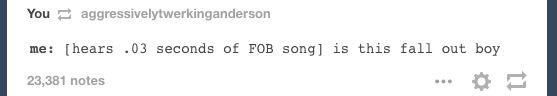 The post that reveals every emo kid's magical powers. | 24 Tumblr Posts Only Pop-Punk Fans Will Laugh At