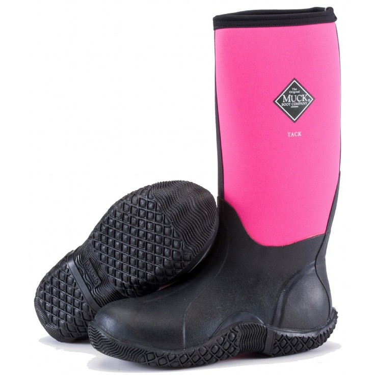 My old Muck brand boots are nearly 10 years old. They stink. Plain and simple. I WANT THESE, but can't find the hot pink in my size.  :-(