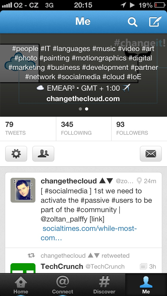 new @twitter #profile #info