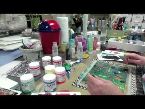 Gelli Tape Goes All The Way -- Part 2