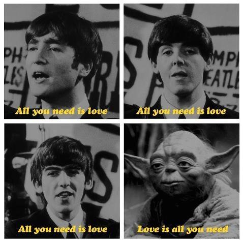 Yoda + Beatles