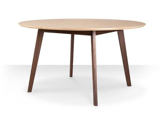 Product: Belfort dining table in ash and walnut, £339. SWOONEDITIONS.COM