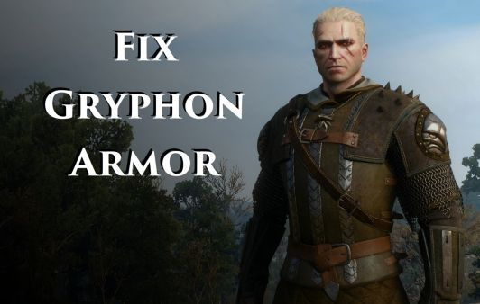 All games The Witcher 3 Mods Models and Textures Fix Gryphon
