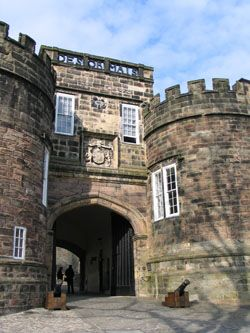 Skipton Castle, Yorkshire, UK