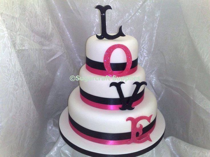 The 94 best sugarcraft supplies cake decorating shop tuition three tier black and pink valantine birthday love cake sugarcraft suppliescake decorating shopbirthday lovecake factorytier wedding junglespirit Gallery