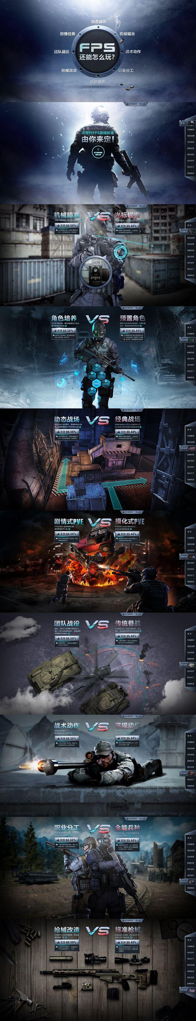 FPS类游戏专题设计 | 盒子UI
