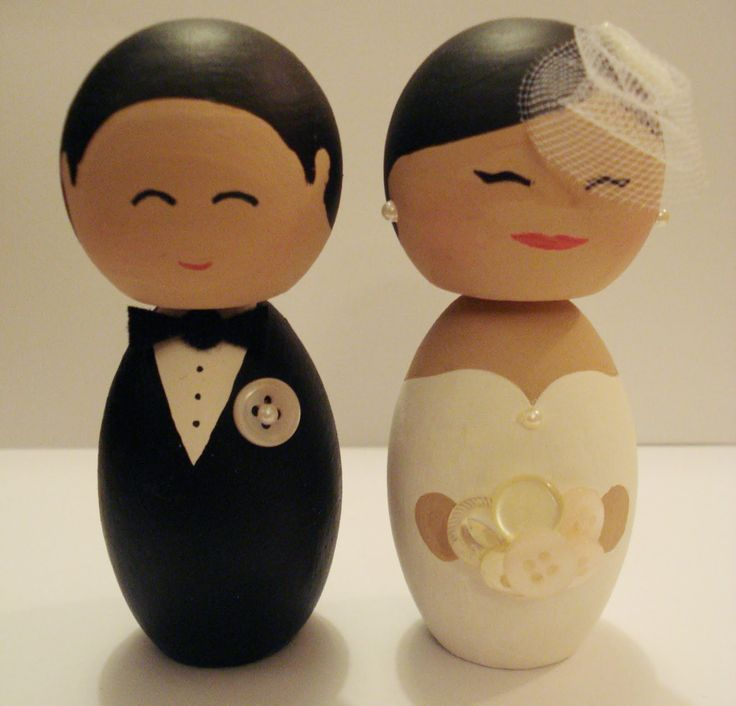 cake toppers | DIY - Wedding Cake Toppers
