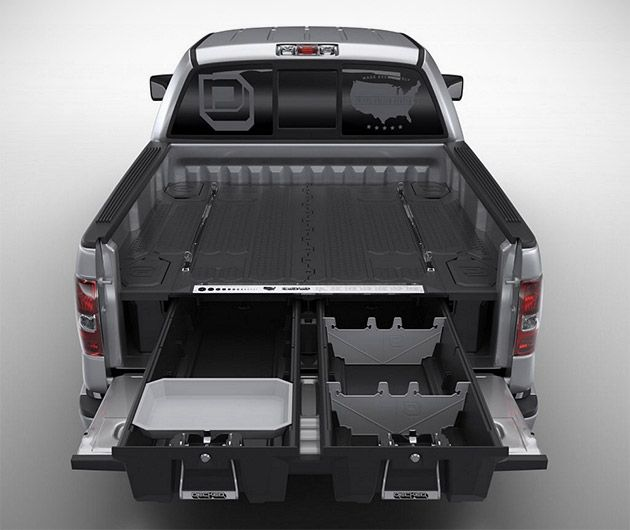 Decked Truck Bed Storage System On Http Www Gearculture