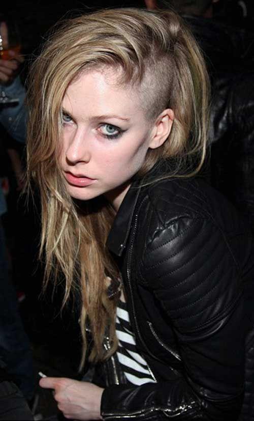 Punk Rock Haircut Long Hair Pinterest Avril Lavigne Long Hair