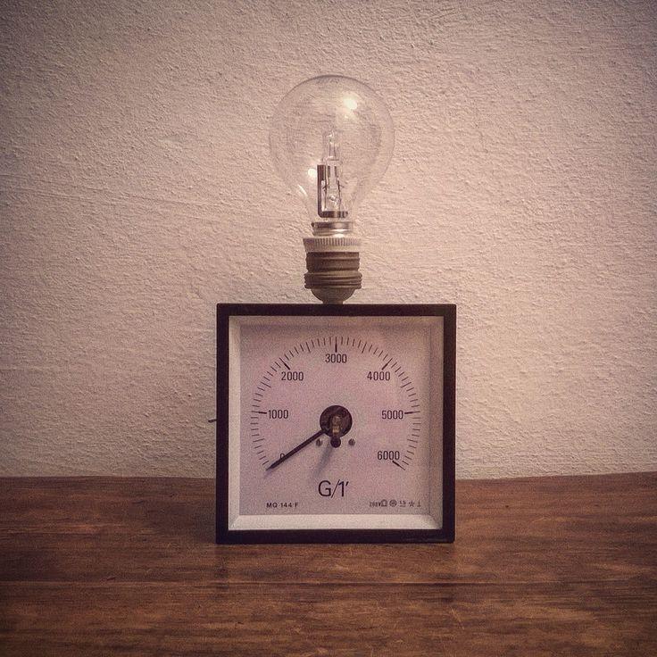 ottone/porcellana, lampadina a sfera inclusa attacco E27. #wood ...