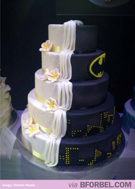 The Couple Who Learned To Share Decorated Cakes Batman