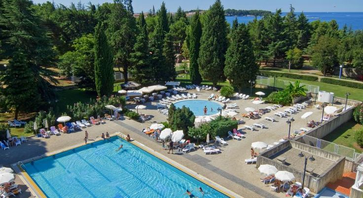Hotel Pical Poreč Hotel Pical is located in a peaceful pine-shaded location close to the centre of Porec and offers award-winning dining plus spa, tennis and other sports facilities, all in a beautiful natural setting.