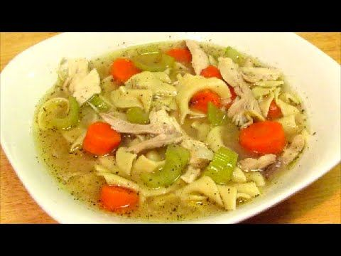 Old Fashioned Chicken Noodle Soup Recipe by The Wolfe pit