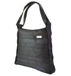 Très beau sac à main de luxe Italien en ceintures de sécurité réutilisées! Marque 959.