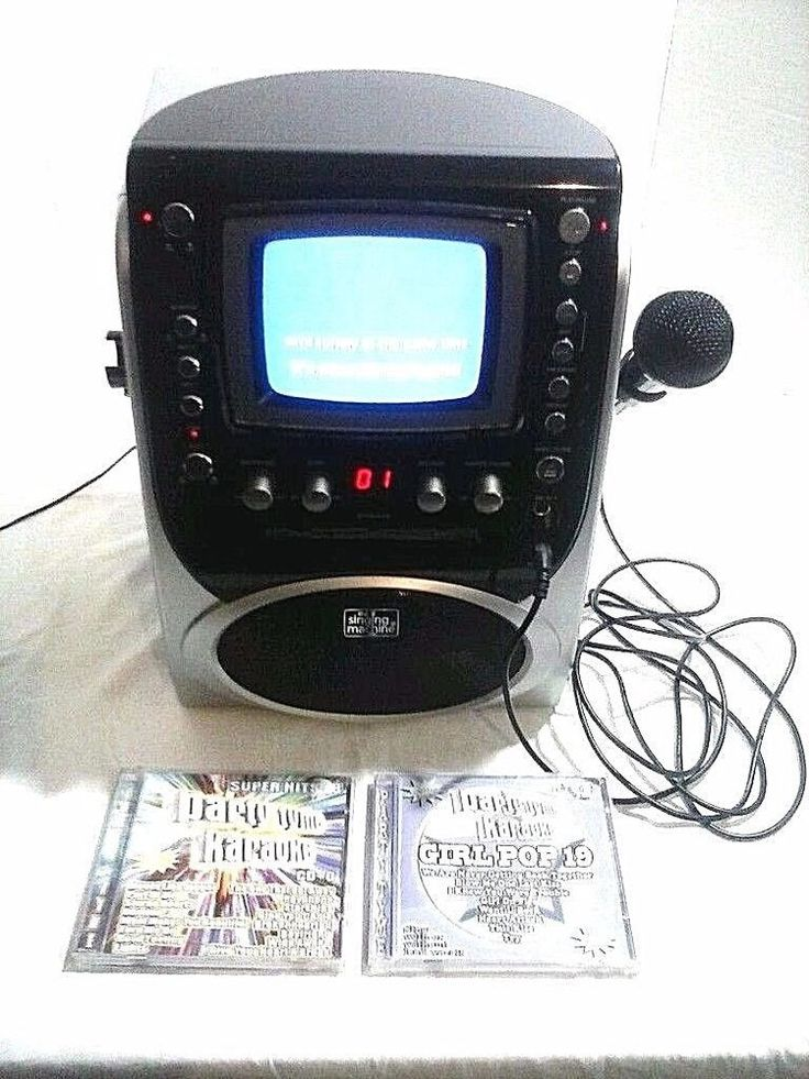 Singing Machine STVG-519  Karaoke Player Pre Owned Works Tested Works Great #TheSingingMachine