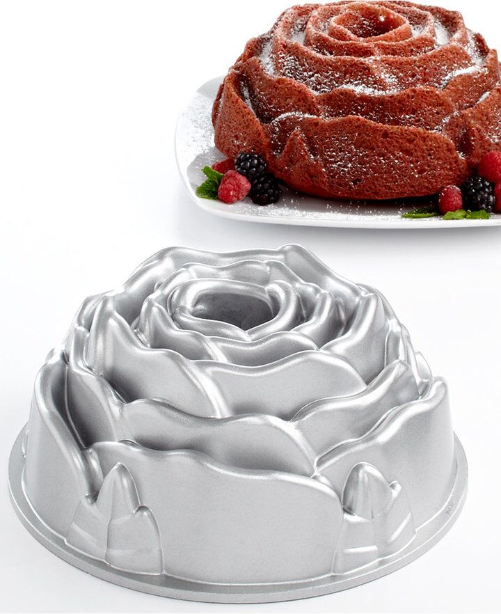 Angel Cake Pan Shape Pattern
