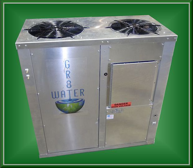 10 Ton fabricante Generador de Agua atmosférica de agua GR8