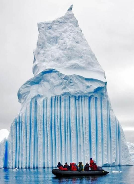 Icebergs on Lake Winnipeg Manitoba