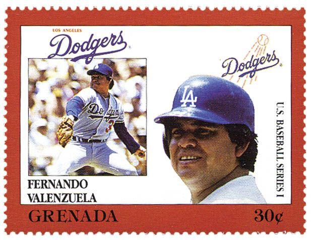 Granada, 1988 Fernando Valenzuela (1960) Beisbolista mexicano de Navojoa, Sonora, lanzador zurdo que jugó en los Dodgers de Los Ángeles de las Grandes Ligas de Beisbol.