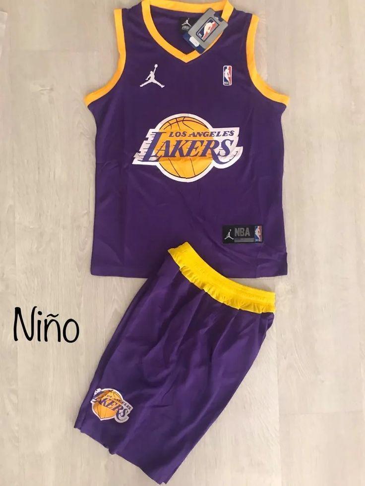 Uniforme Baloncesto Nba Lakers Niño - $ 52.000 | Nba, Baloncesto ...