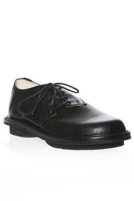 DIPPY shoe in smooth cowhide leather - TRIPPEN