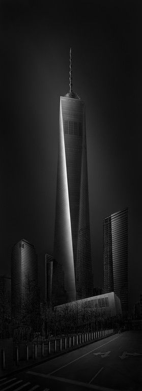 Urban Saga V - WTC 1 - Freedom Tower by Julia Anna Gospodarou - New York City