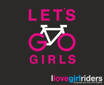 Yeap, I bike like a girl and I am proud of it