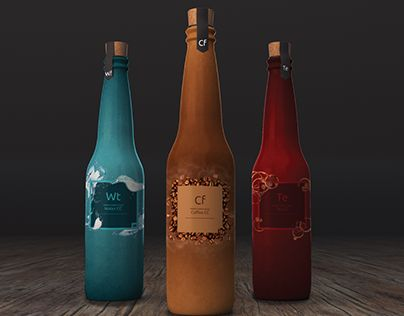 """Check out new work on my @Behance portfolio: """"Adobe Drink"""" http://on.be.net/1Gs9rLx"""