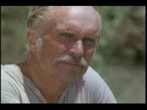 Robert Duvall as Gus in Lonesome Dove. Don't know how it gets any better!