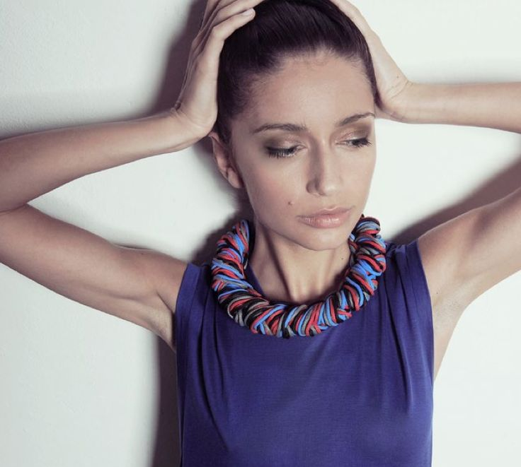 new sailing rope necklace from alienina upcoming collection!