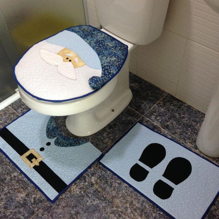 Jogo de banheiro Pathwork | Ateliê da Vovó Nena | Elo7