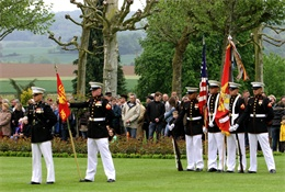 The Battle of Belleau Wood not forgotten by U.S. Marines and French soldiers on Memorial Day > Marine Corps Forces Europe > News Article Display