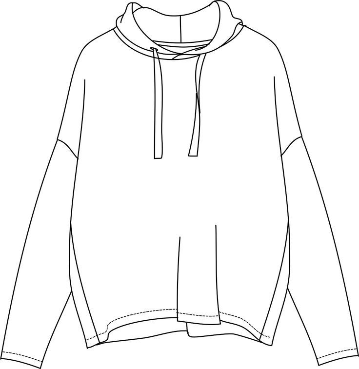 Рисунки для срисовки одежды