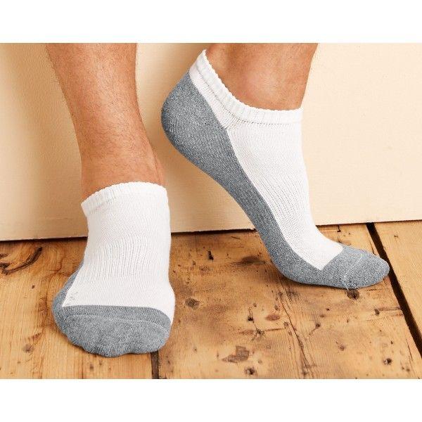 Live in fresh fashion with Gildan Trainer Sock  Trainer Socks - No ShowGP711• Moisture Wicking• Cushion Sole• 6 Pairs Per Pack  Price: £6.94  Read here: http://goo.gl/MVAAuI