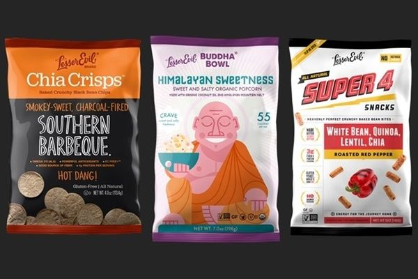 LesserEvil Organic Gluten-Free Snacks! Review of the Dairy-Free Buddha Bowl, Chia Pop, Chia Crisps, and Super 4 Flavors - Low calorie, low sugar, packed with flavor and nutrition! So much better than chips.