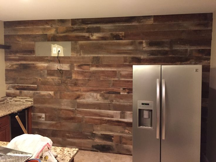30 best reclaimed walls barn wood pallet wood images - Reclaimed wood for interior walls ...