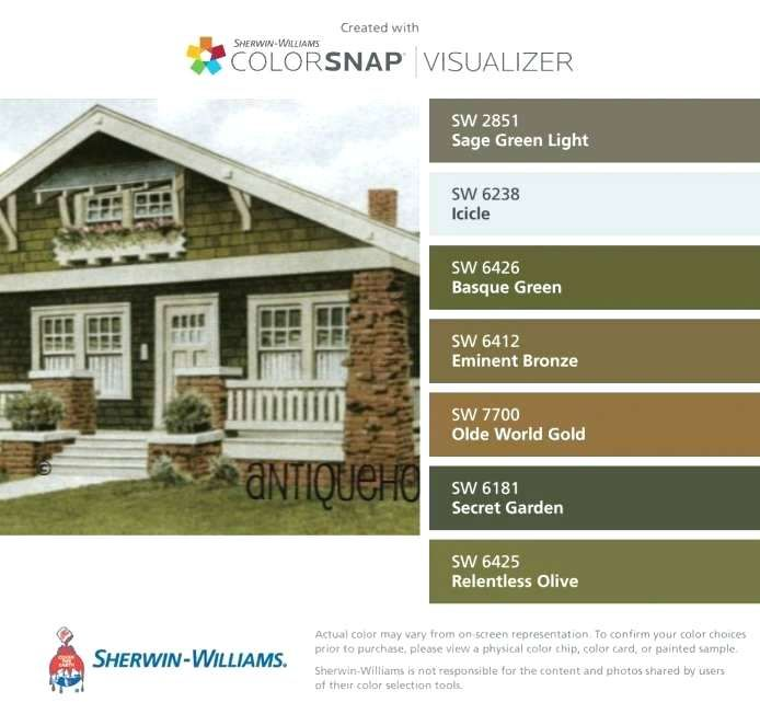 Exterior Home Colors 2019: 2019 Exterior House Colors Sherwin Williams