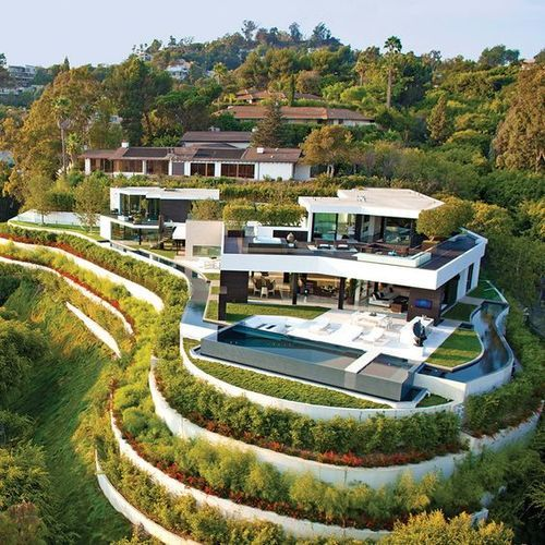 $31 Million 1201 Laurel Way Residence - Beverly Hills, CA