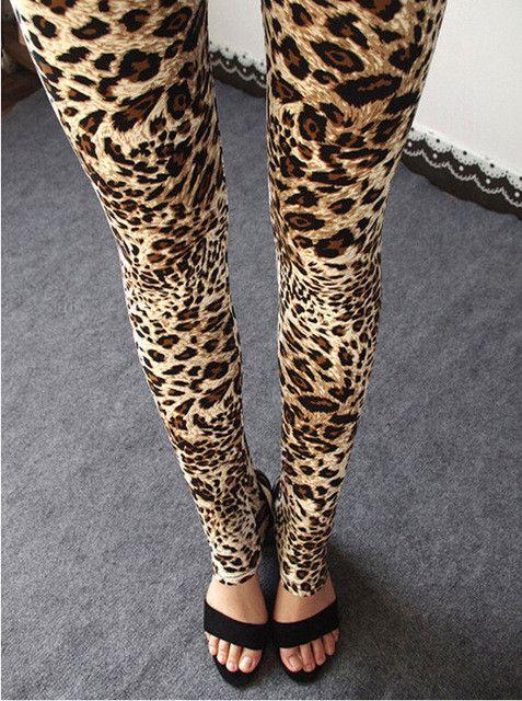 Fashion Skinny Pants Multiple Leopard Leggings Womens Leggins 2017 Elastic Stretch Calca Legging Feminina Workout Sale HDDK001