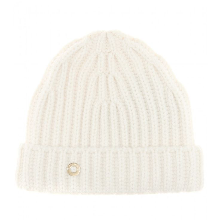 Loro Piana - Inglese cashmere hat - Accessorise wintry looks with Loro Piana's cream hat. It's crafted from luxuriously soft English rib-knit cashmere for the warmest finish. Take it from the city streets to ski slopes for sheer cosiness. seen @ www.mytheresa.com