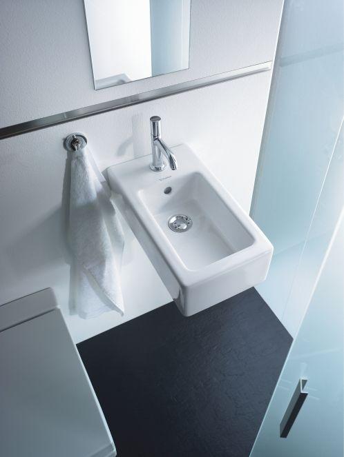 ... vero handrinse wall hung basin duravit vero handrinse basin 070225