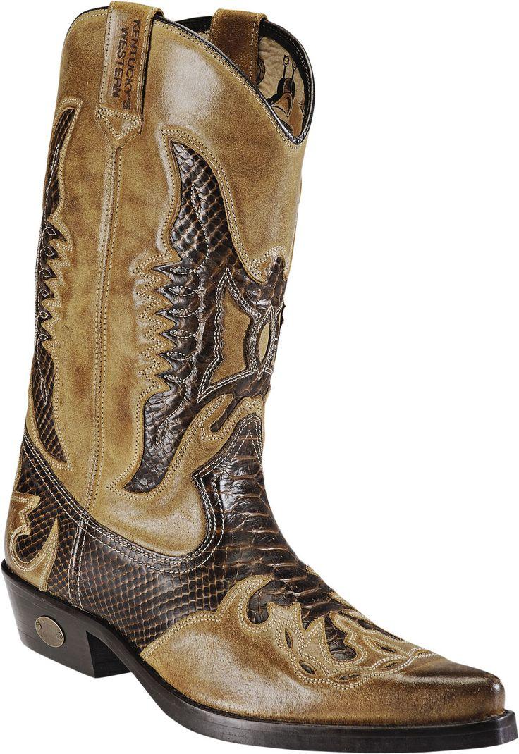 "World of Western - Kentucky Western boot ""Bunkie"""