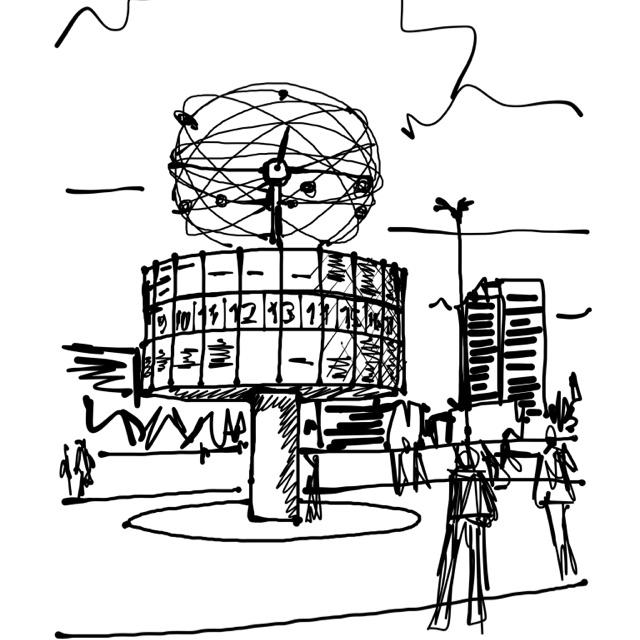 Alexanderplatz, auf Wiedersehen