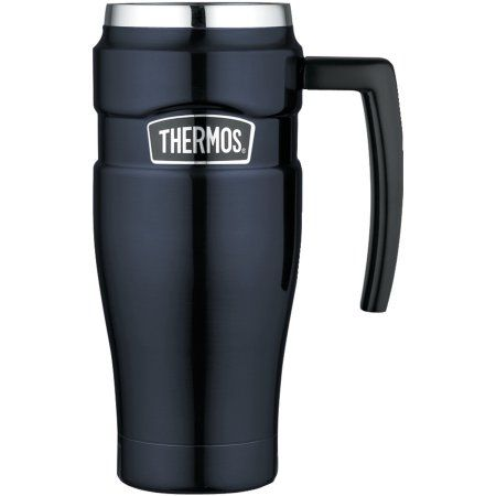 Stainless Leak MugBlue 16 Ounce Steel Thermos Travel Proof 1cFTlJK