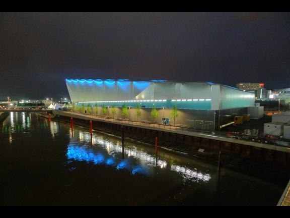 First Look: David Morley Architects opens doors to Olympic Water Polo Arena   News   Architects Journal